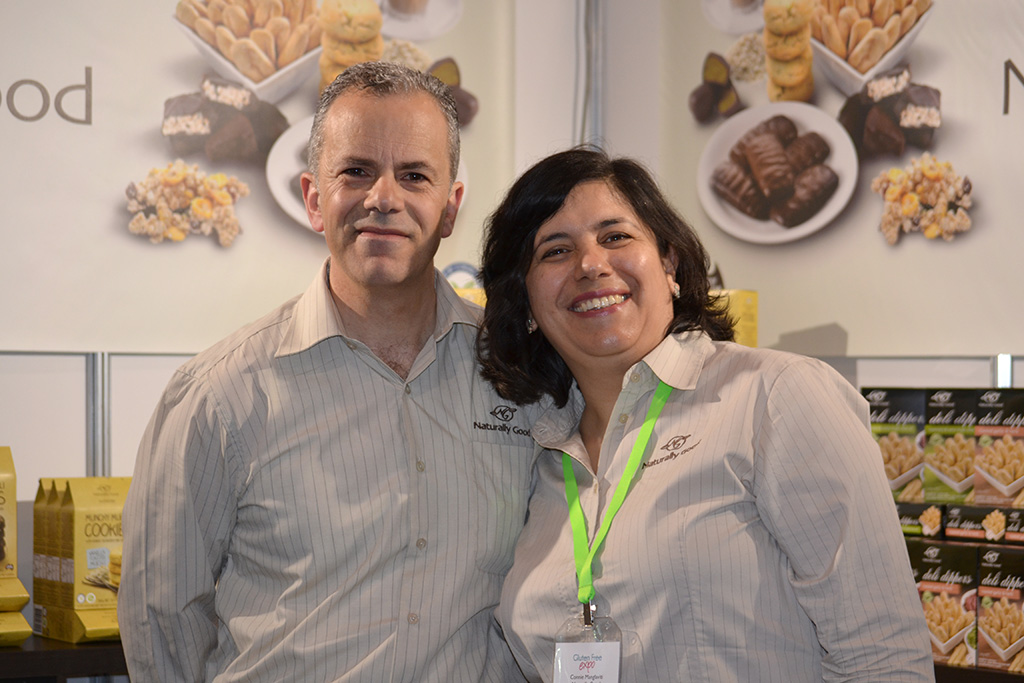 Frank and Connie Manglaviti - Gluten Free Show in Melbourne